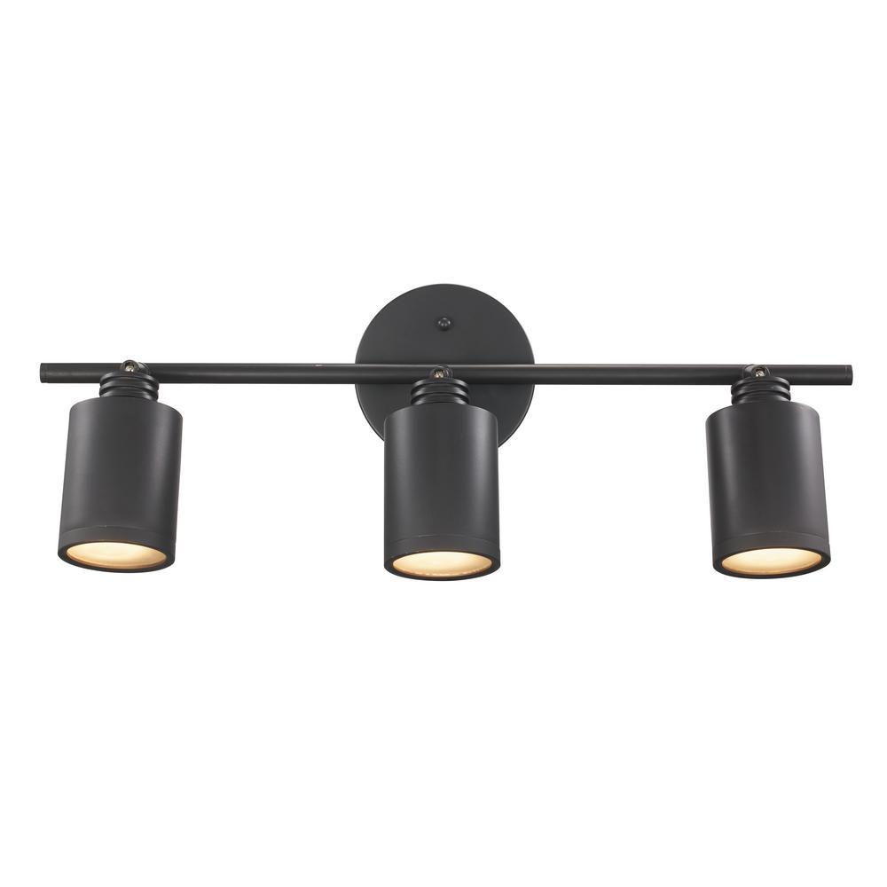 Holdrege 1.8 ft. 3-Light Rubbed Oil Bronze Track Lighting Kit