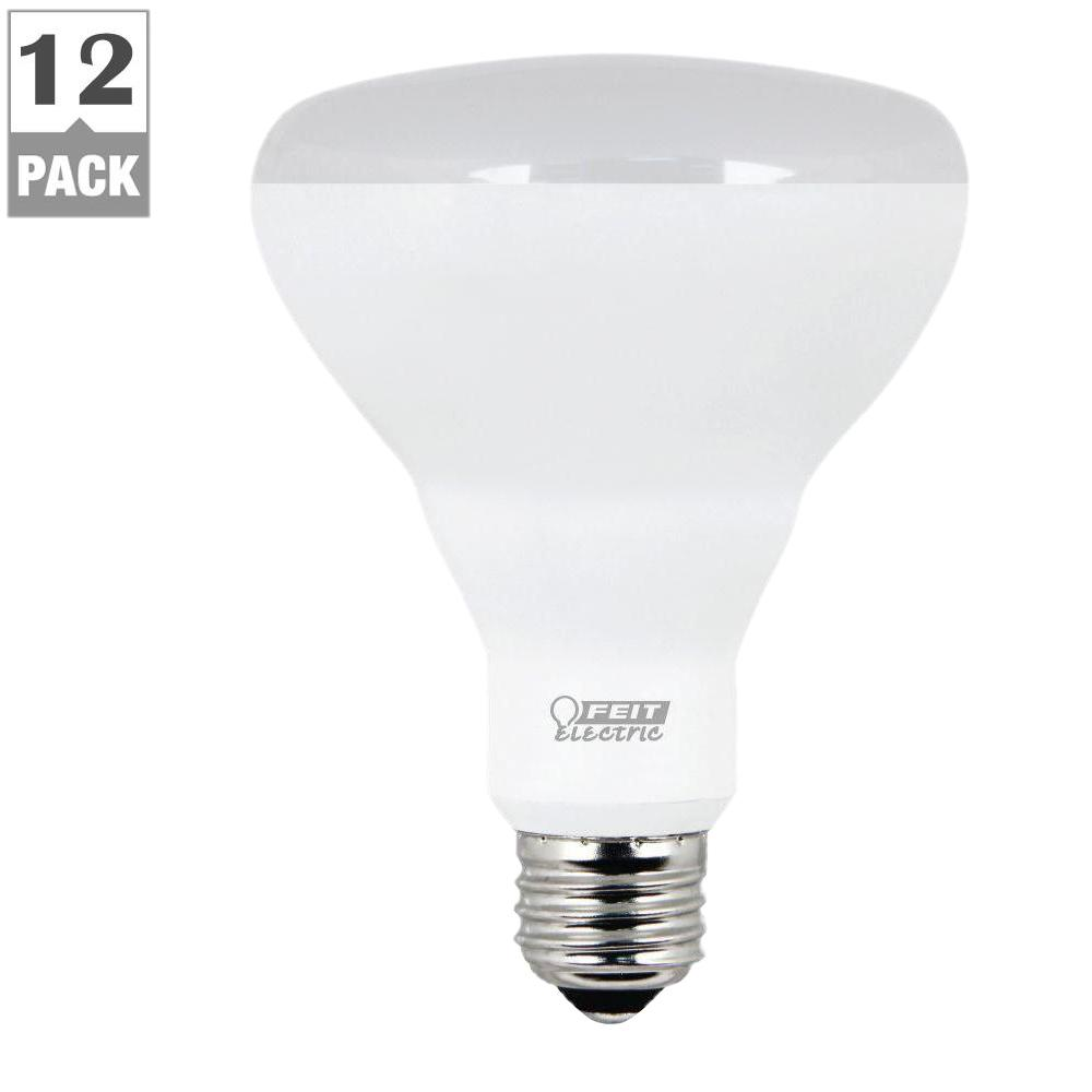 Outside Lights Daylight Or Soft White: Feit Electric 65W Equivalent Soft White BR30 Dimmable LED