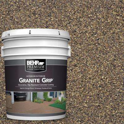 5 gal. #GG-14 Autumn Mountain Decorative Concrete Floor Coating