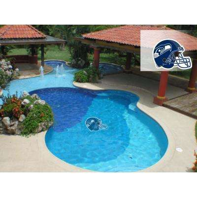 NFL Seattle Seahawks 29 in. x 29 in. Small Pool Graphic