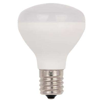 25W Equivalent Soft White R14 Flood Dimmable LED Light Bulb