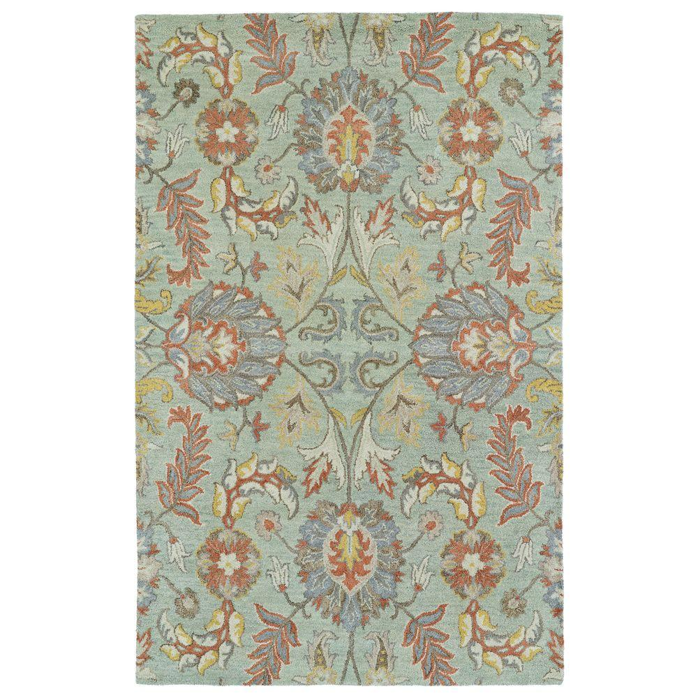 Kaleen Helena Turquoise Area Rug Reviews: Kaleen Helena Mint 12 Ft. X 15 Ft. Area Rug-3212-88 1215