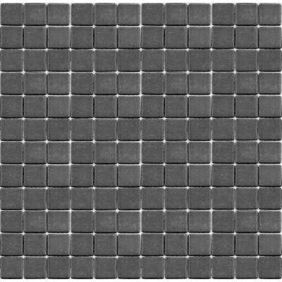 Teaz Earl Grey 1202 Mosiac Recycled Glass Mesh Mounted Floor And Wall Tile 3 In X 3 In Tile Sample
