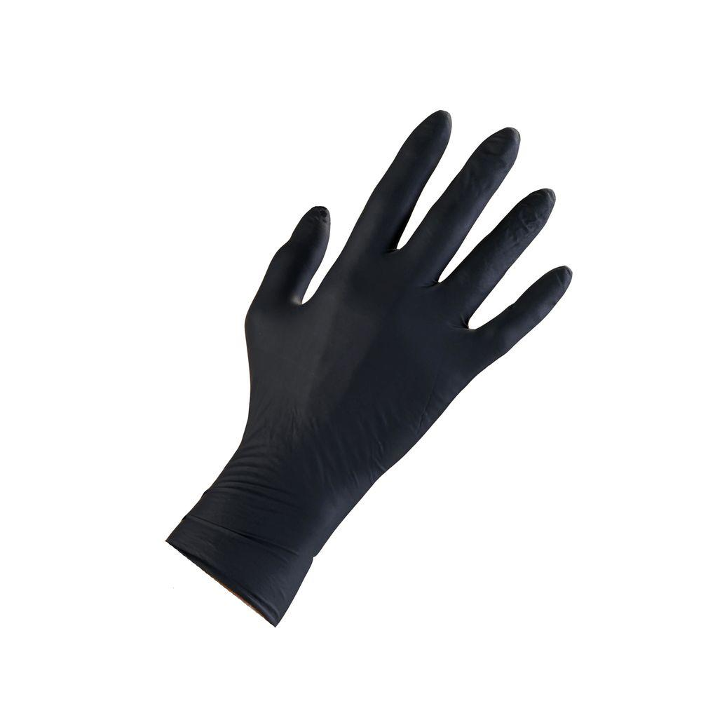 High Five Extra-Large Onyx Nitrile Gloves (200-Count)