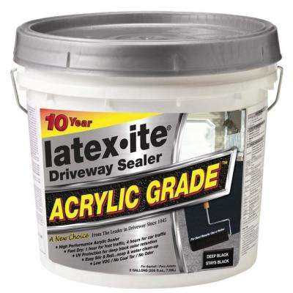2 Gal. Acrylic-Grade Black Driveway Sealer