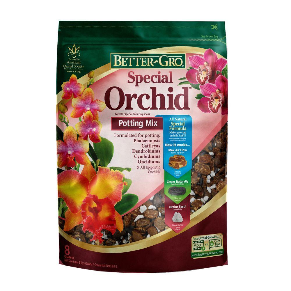Better Gro 8 Qt Special Orchid Mix