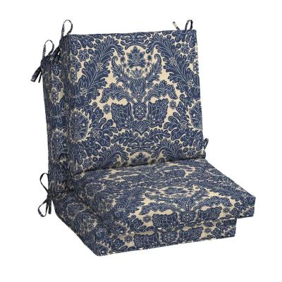 Chelsea Damask Outdoor Dining Chair Cushion (2-Pack)