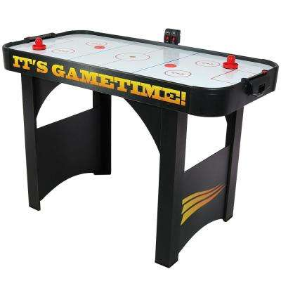 48 in. Air Hockey Table with Scorers and Accessories