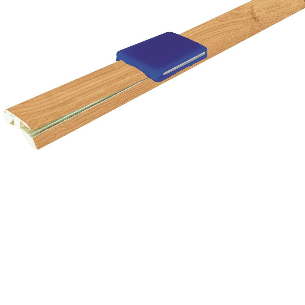 Mohawk Natural Oak 1-7/8 in. Wide x 83-1/2 in. Length 4-in-1 Laminate Molding-DISCONTINUED