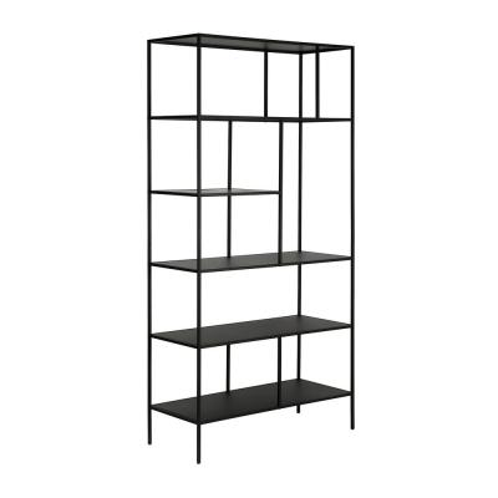 Blackened Bronze Winthrop Bookcase