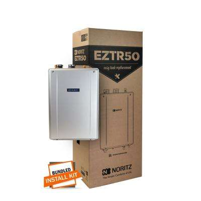 50 Gal. Tank Replacement-Liquid Natural Gas Hi-Efficiency Indoor Tankless Water Heater with 12-Year Warranty and Wi-Fi