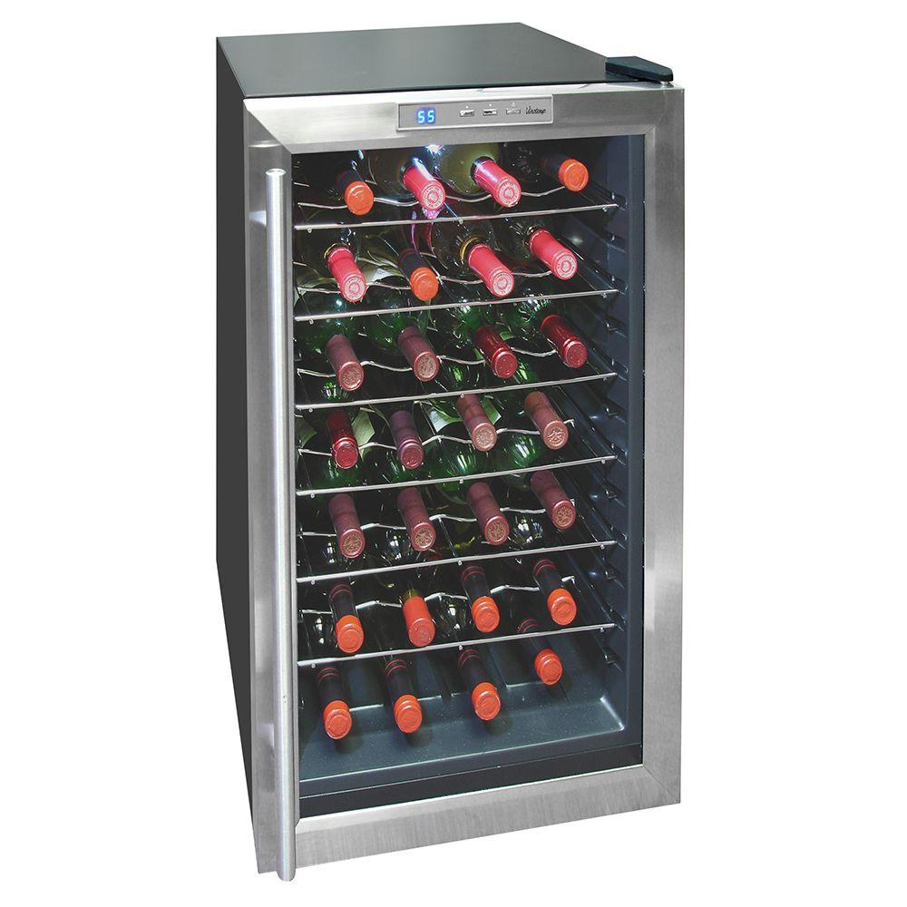 Vinotemp 28-Bottle Thermoelectric Wine Cooler