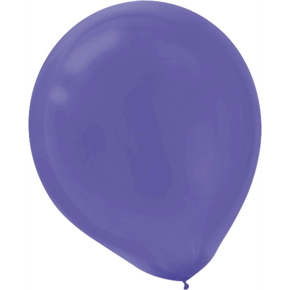9 in. Purple Latex Balloons (20-Count, 18-Pack)