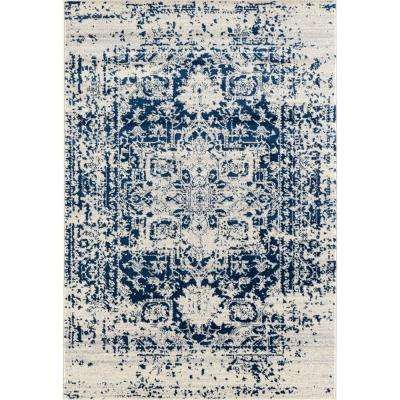 Abigail Lileth Midnight Blue 9 ft. 8 in. x 13 ft. 2 in. Area Rug