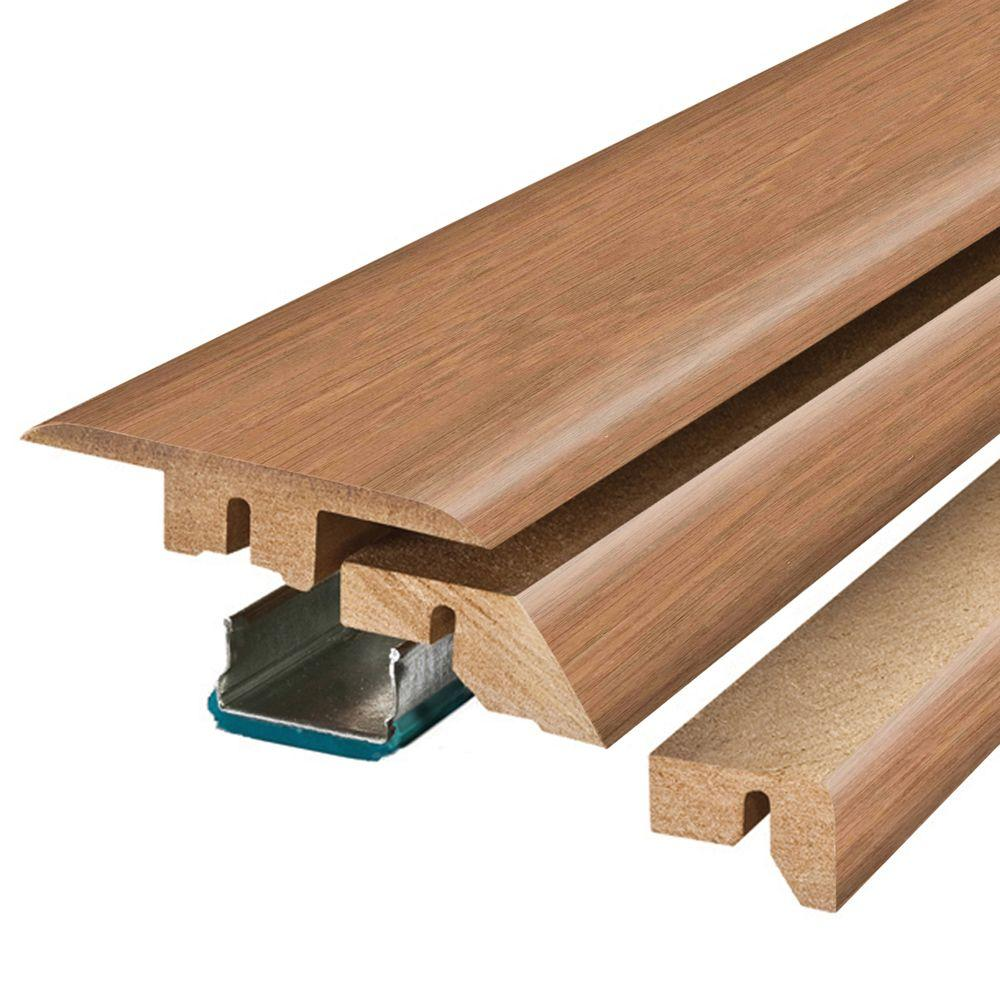 Pergo Marigold Oak Haley 3 4 In Thick X 2 1 8 Wide 78 Length Laminate Molding Mg001233 The Home Depot