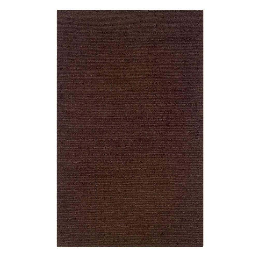 Linon Home Decor Classic French Roast 8 ft. x 11 ft. Indoor Area Rug
