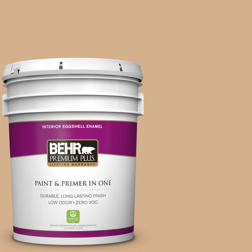 BEHR Premium Plus 5-gal. #S290-4 Summerwood Eggshell Enamel Interior Paint