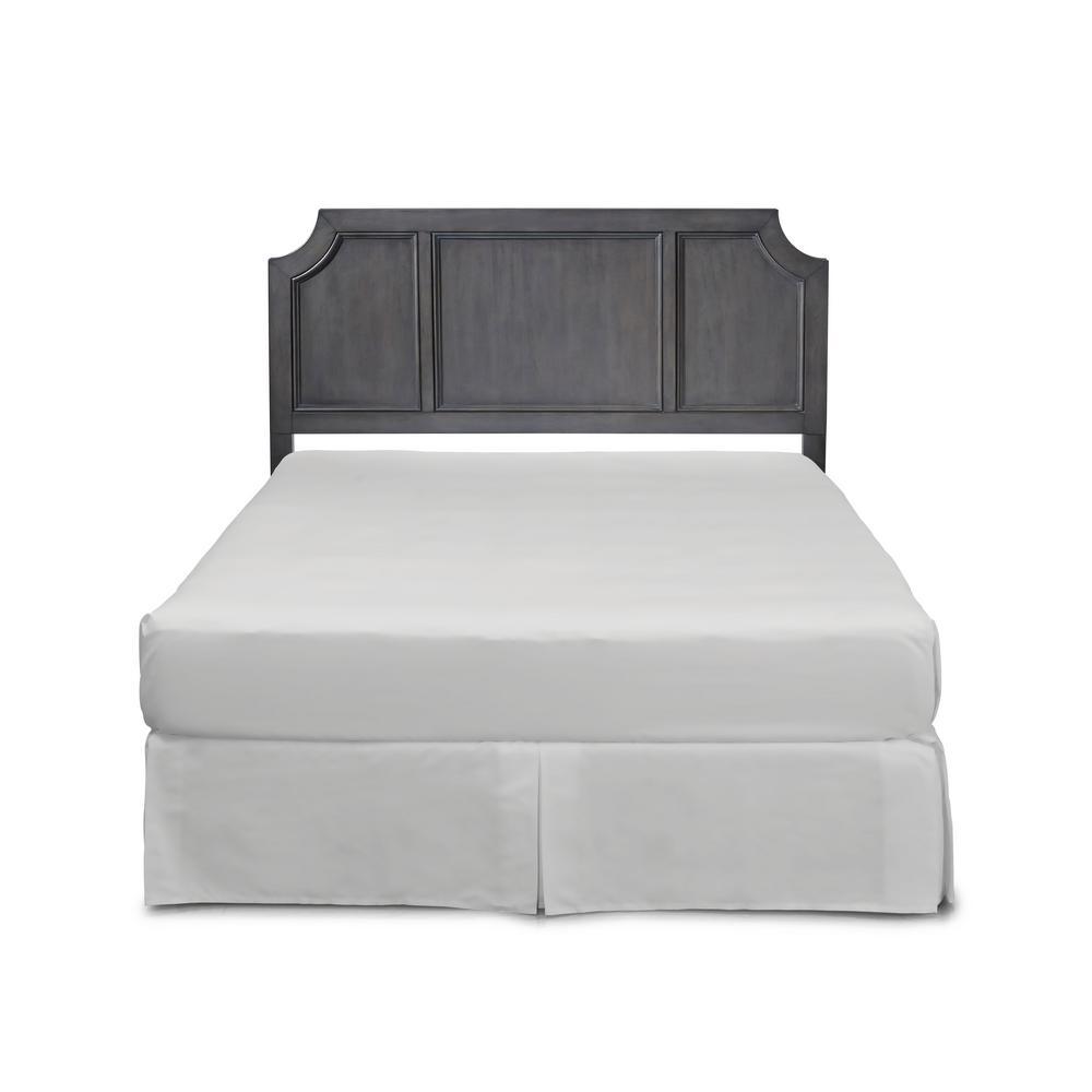 Home Styles 5th Avenue 2-Piece Gray Queen Bedroom Set 5436-5015