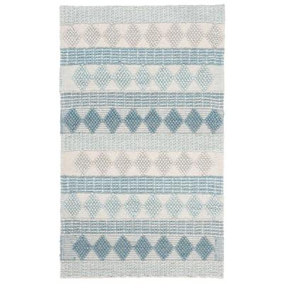 Natura Blue/Ivory 3 ft. x 5 ft. Area Rug