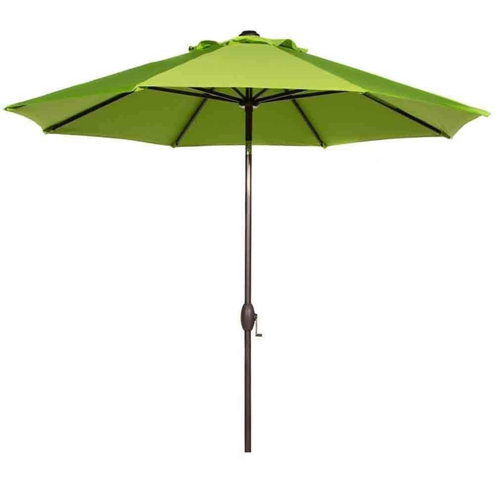 Abba Patio 9 Ft Outdoor Market Umbrella With Auto Tilt