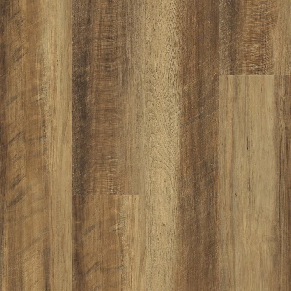 Jefferson 7 in. x 48 in. Golden Resilient Vinyl Plank Flooring (18.68 sq. ft. / case)