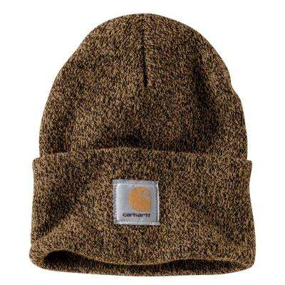 Men's OFA Dark Brown/Sandstone Acrylic Hat Headwear