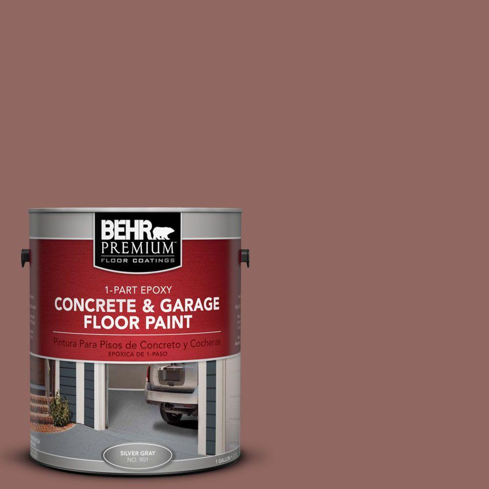 BEHR Premium 1 gal. #PFC-09 Giant Sequoia 1-Part Epoxy Concrete and Garage Floor Paint