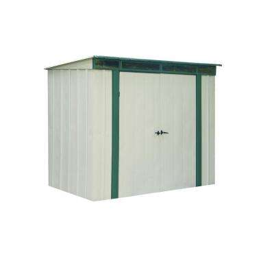 Eurolite Lean Too 10 ft. x 4 ft. Steel Storage Shed