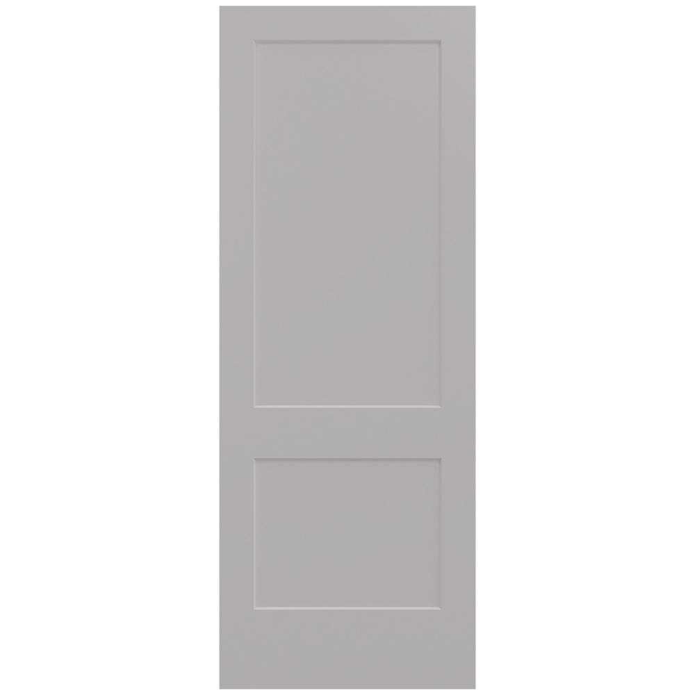 36 in. x 96 in. Monroe Driftwood Painted Smooth Solid Core  sc 1 st  The Home Depot & 36 x 96 - Slab Doors - Interior u0026 Closet Doors - The Home Depot