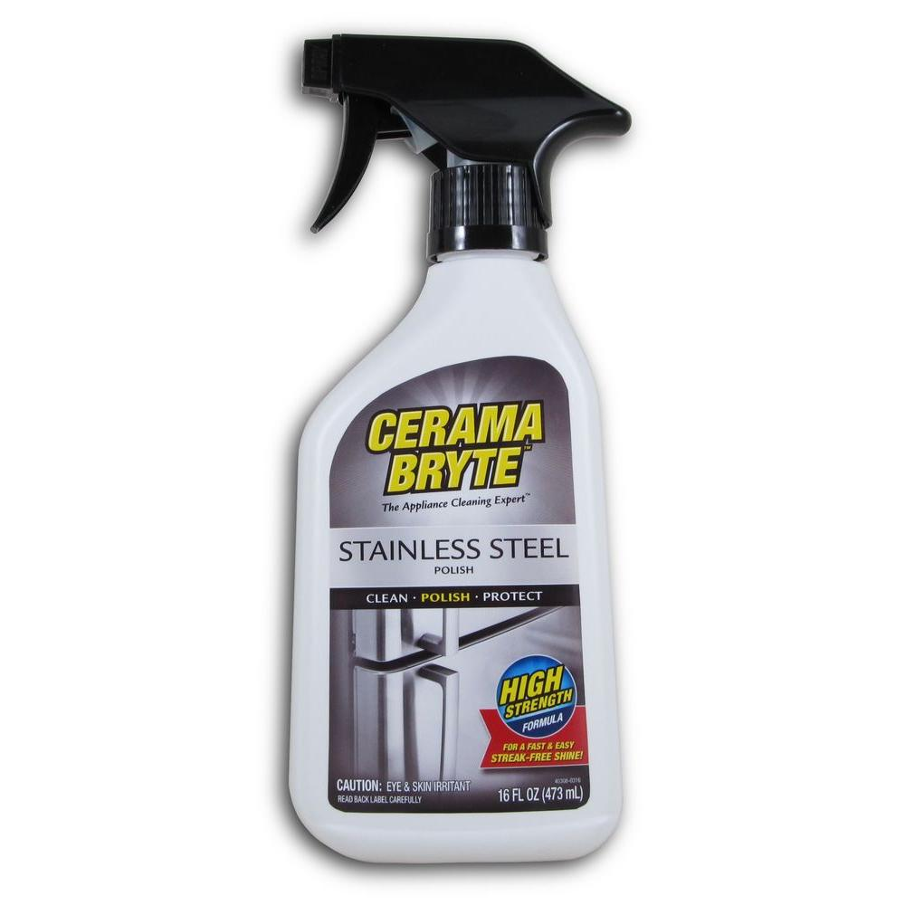Cerama Bryte 16 Oz Stainless Steel Cleaning Polish And
