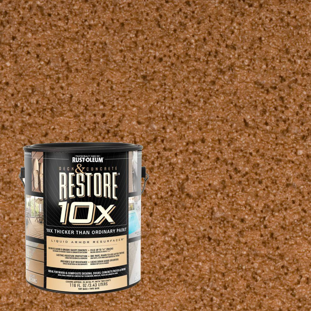 Rust-Oleum Restore 1-gal. Timberline Deck and Concrete 10X Resurfacer