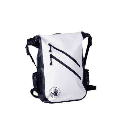 Seaside Waterproof 5 in. White Floatable Backpack