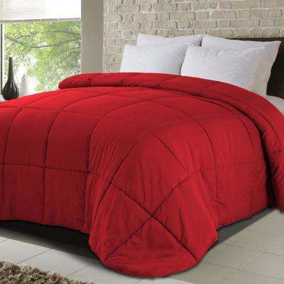 Never Down All-Season King Microfiber Down Alternative Comforters