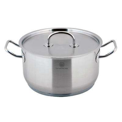 Pro-X 5.3 Qt. Stainless Steel Stock Pot with Lid
