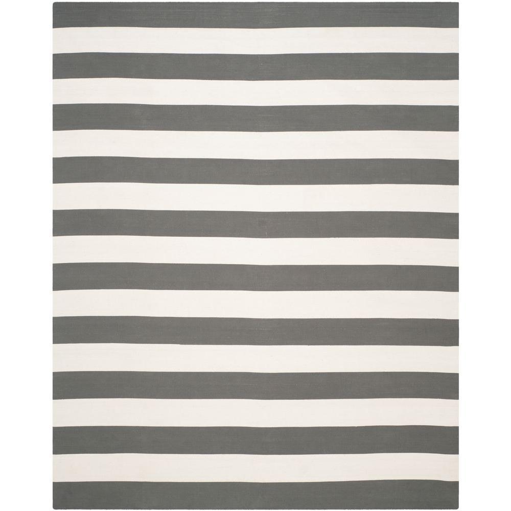 Montauk Grey/Ivory 8 ft. x 10 ft. Area Rug