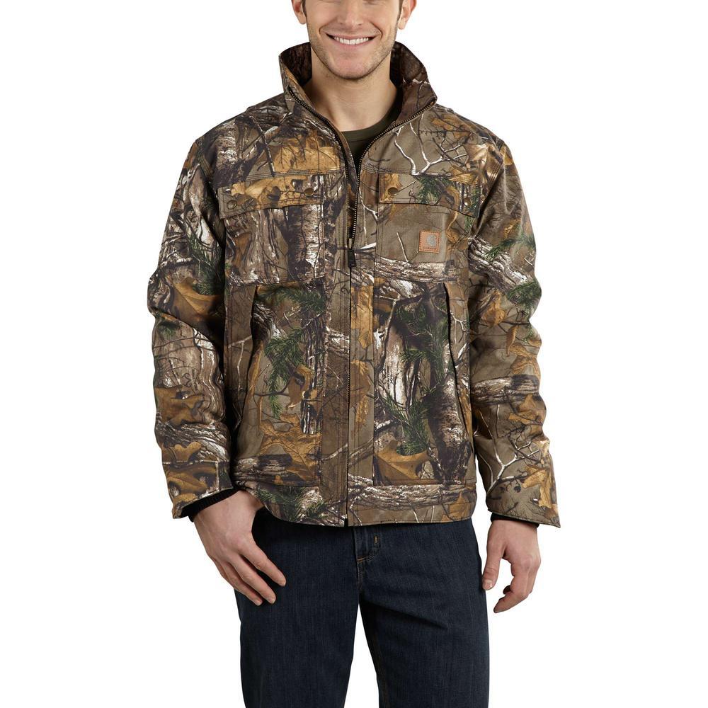 d9a53bb18b Carhartt Men s Regular X Large Realtree Xtra Cotton Polyester Jacket ...