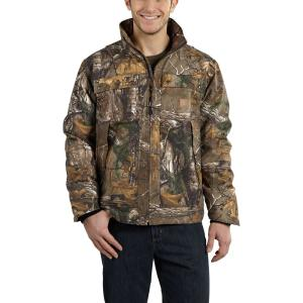 282e64cd Carhartt Men's Regular Large Realtree Xtra Cotton/Polyester Jacket ...