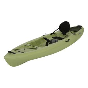 Click here to buy Lifetime Weber 11 ft. Kayak in Light Olive with Back Rest by Lifetime.