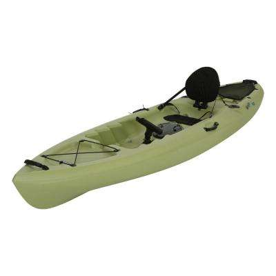 Weber 11 ft. Kayak in Light Olive with Back Rest