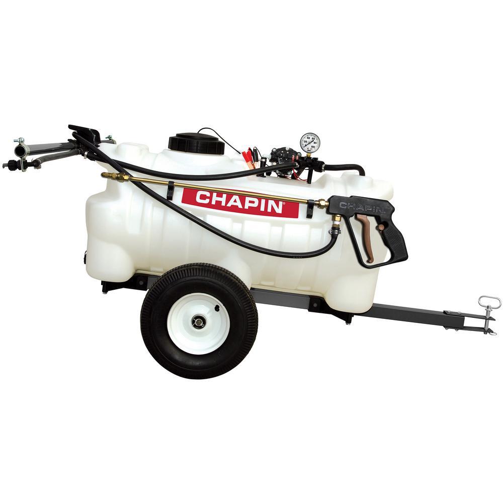 CHAPIN 25 Gal. 12-Volt EZ Tow Dripless Sprayer 97700