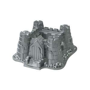 Click here to buy Nordic Ware Aluminum Castle Bundt Pan by Nordic Ware.
