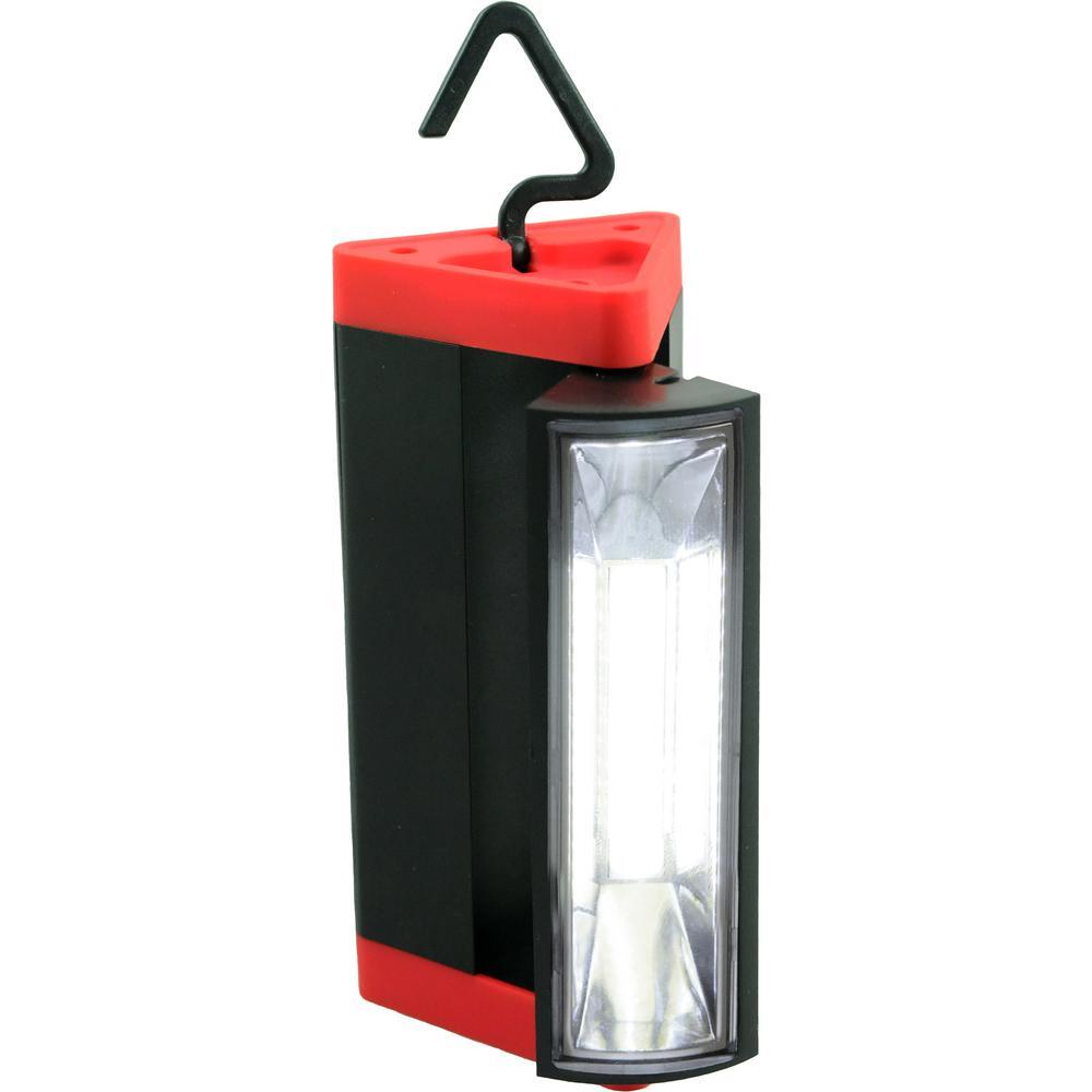 COB 3-Watt Triangle Swivel Worklight (2-Pack)