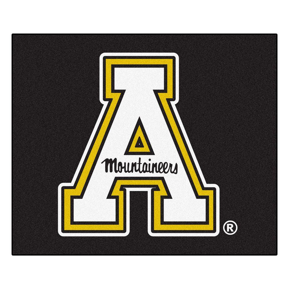 Appalachian State University 5 ft. x 6 ft. Tailgater Rug, Team Colors