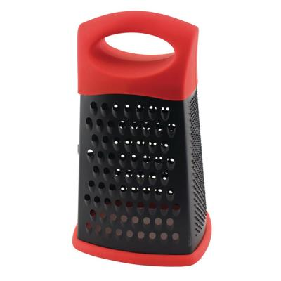 CooknCo Stainless Steel 10 in. 3-Sided Grater