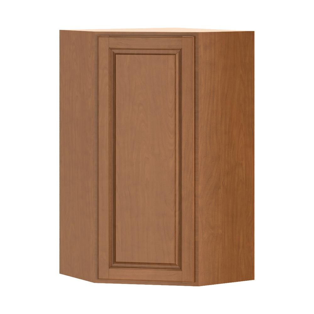 Hampton Bay Corner Cabinet: Hampton Bay Madison Assembled 24x42x24 In. Corner Wall