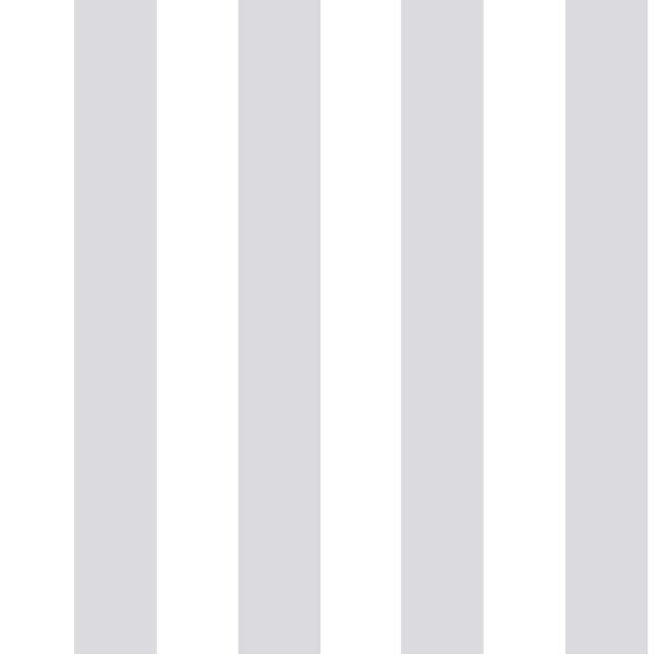 Stripe White/Silver Silver/White Paper Strippable Roll (Covers 56 sq. ft.)