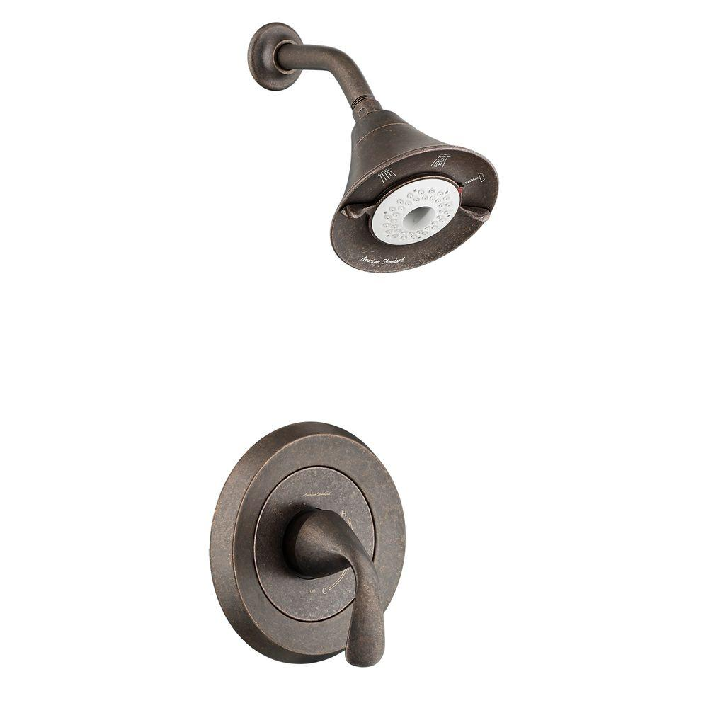 Fluent Flowise 1-Handle Shower Only Faucet Trim Kit in Oil Rubbed