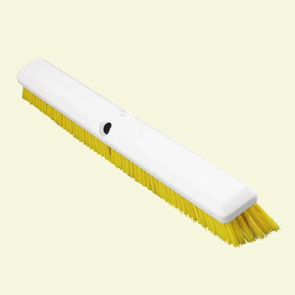 24 in. Yellow Omni Sweep Floor Sweep (Case of 12)