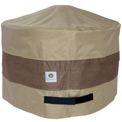 50 in. Elegant Round Fire Pit Cover