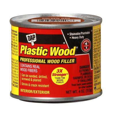 Plastic Wood 4 oz. Golden Oak Solvent Wood Filler